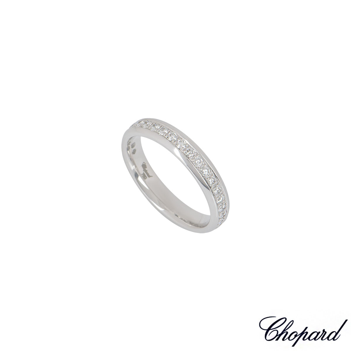 Chopard White Gold Diamond Eternity Band 827331-1107
